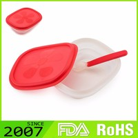Fast Production Comfortable Customized Logo Foldable Silicone Chinese Baby Food Containers Microwave