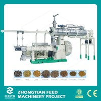 2016 New tech 1500-1800Kg per hour floating fish feed extruder machine extruder for fish food