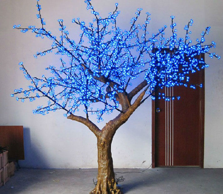 LED holiday landscape outdoor indoor cherry bolssom tree light
