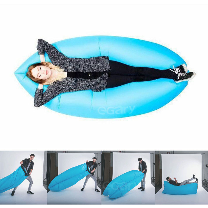 Sleeping bags 2016 fashion travel camping inflatable air filled chair
