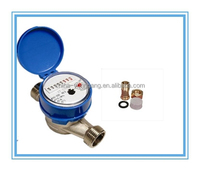 1/2'' mini smart water meter/meter/water meteing brass body