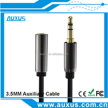 3.5mm Audio Extension Cable Stereo Male to Female Aux Phone Cable Headphone Adapter for iPhone 6s 6 MP3 CD Player Radio