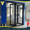 China Manufacture cheap price glass interior folding doors lowes