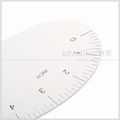 High quality aluminum garment ruler ,fashion design ruler Kearing manufacture#6218a