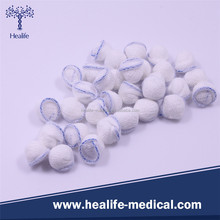 High Quality Absorbent Cotton Medical Disposable Peanut Gauze Ball