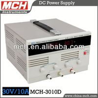 digital dc power supply MCH-3010D variable 30V10A lab power supply, 0-30V/10A, single output