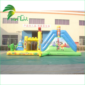 Depot Ship Size Inflatable Cartoon Bounce House for kids