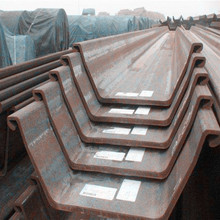 size of sheet pile pilling sheets structure pile