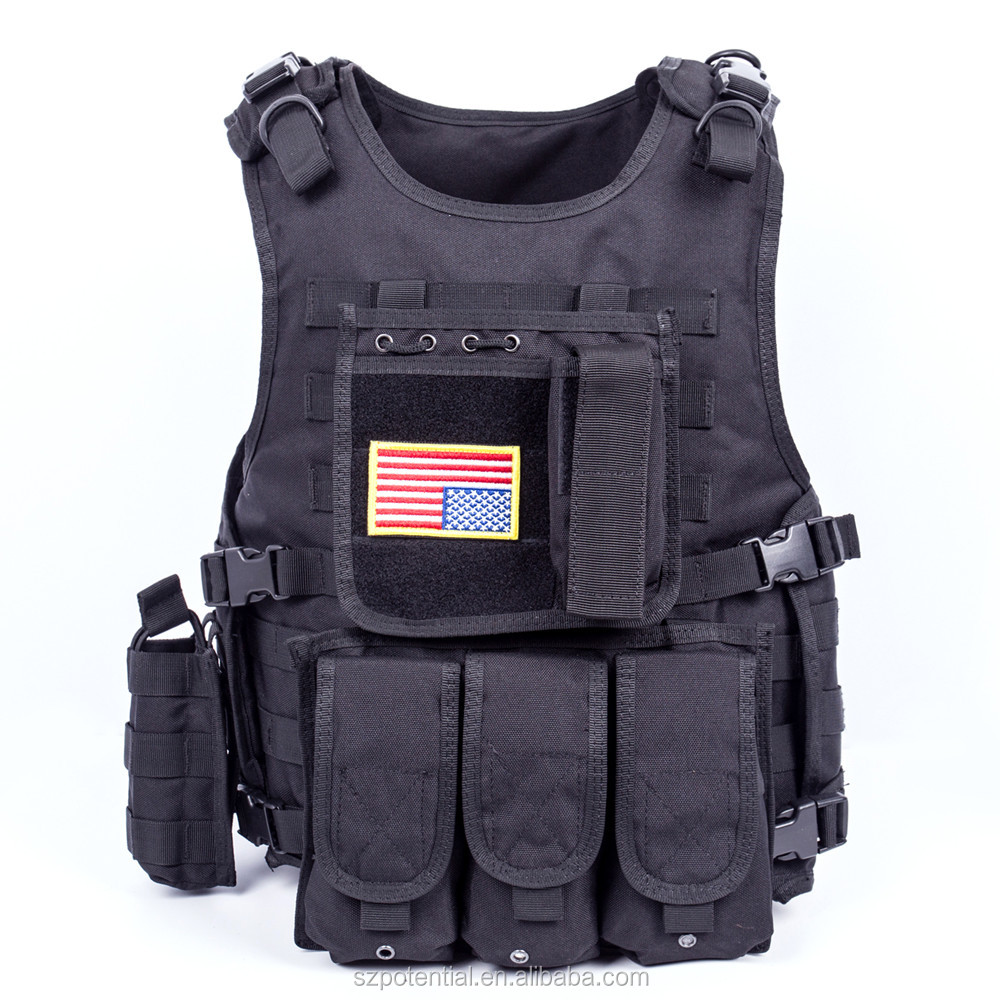 Outdoor military tactical vest /Police combat vest,Army tactical gear,SWAT tactical vest