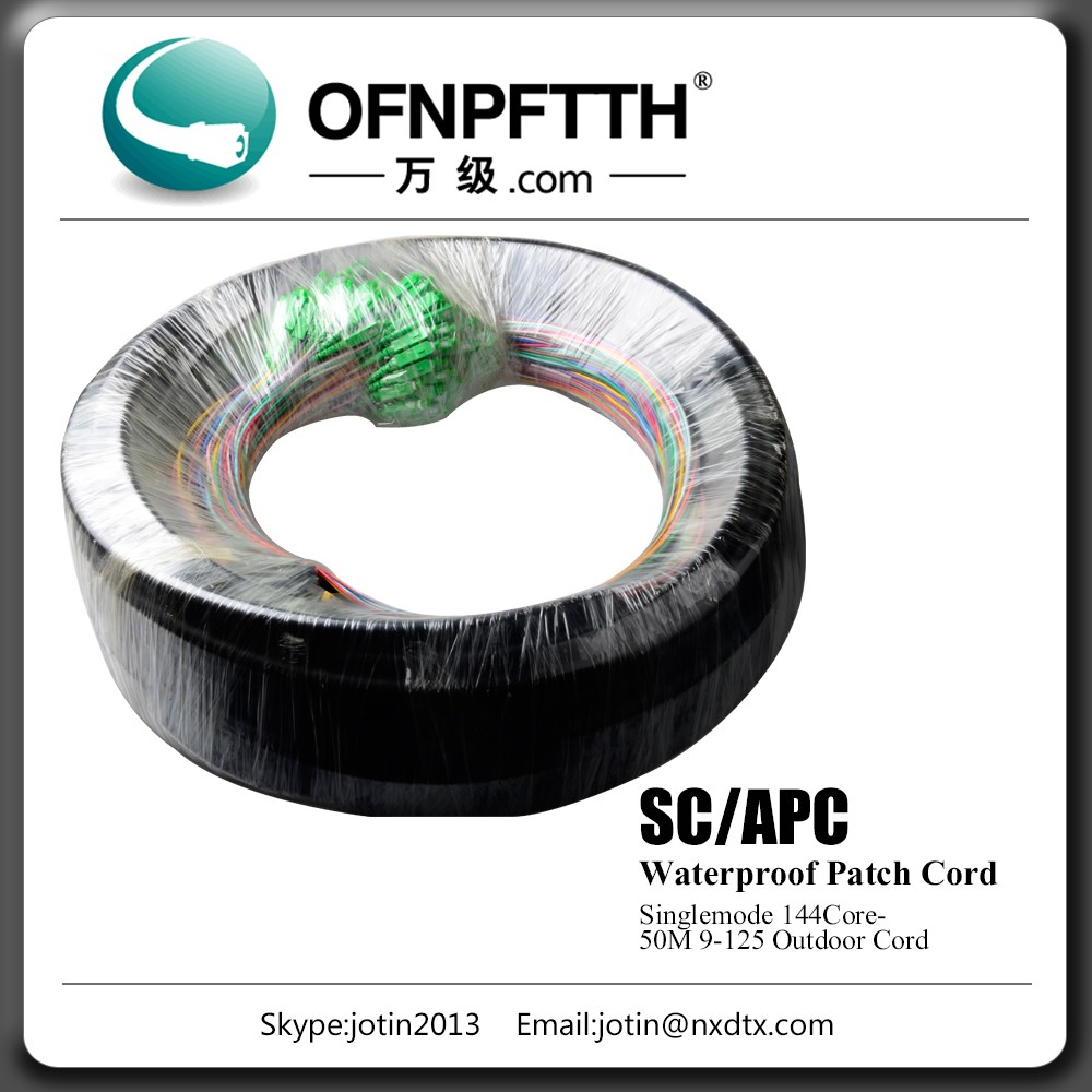 Hot sale Singlemode/Multimode Duplex Outdoor Fiber Patch Cord