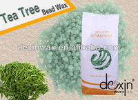 2016 Hot Tea Tree Depilatory Wax in Beads with MSDS Certification 500g