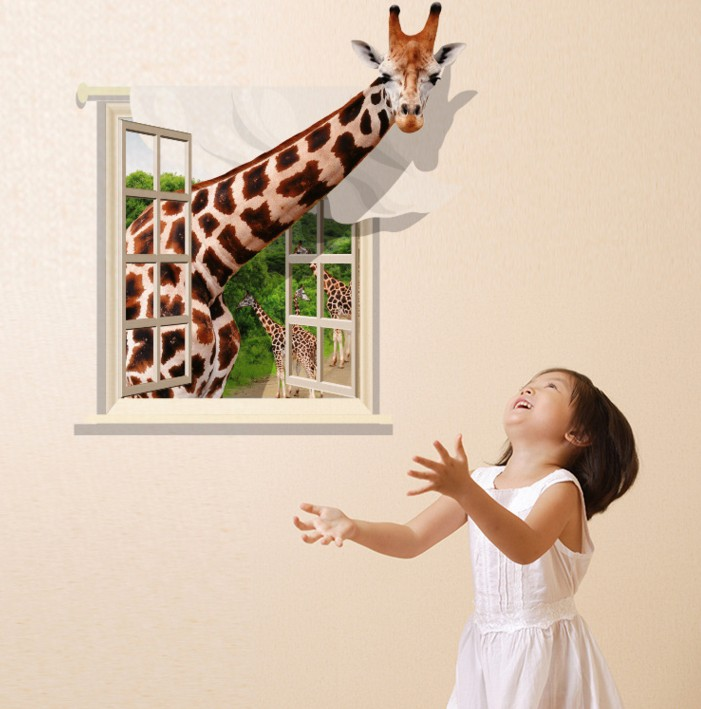 China Supplier Modern Beautiful pvc Decorative Home 3d Wall Floor Ground Sticker , Wallpaper