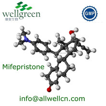 WELLGREEN API high purity Mifepristone 84371-65-3