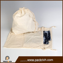 Wholesale eco friendly portable drawstring laundry bag