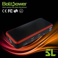 cold weather stand electric car battery jump starter with 70mm2 heavy duty battery booster cables