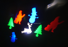 Reindeer, Santa Claus, Christmas Tree & Snowman patterns Christmas LED garden light