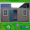 light steel prefabricated hut & container home & prefab container hut with easily to disassemble and install