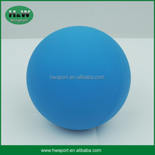 Blue color 57/60mm hollow high bounce ball