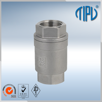 mini vertical check valve pvc
