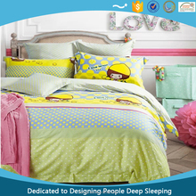 Lemon Popular Kids Bed Sets 100% Cotton 40s 3 Pieces Mixed Sizes with Oeko-tex. Standard 100 Certification