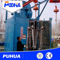 Casting parts Q37 hook hanger type shot blasting machine Q37 series new high quality hook