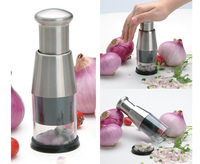 S/S +ABS+PS+PP 15.9*5.9*5.9 Hot sale kitchen utensil onion chopper/ginger garlic chopper/mini chopper