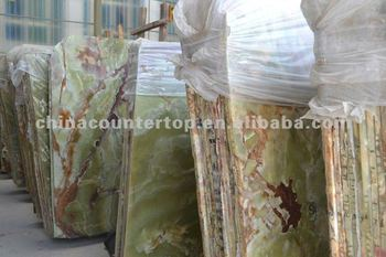 Onyx Green Slab and Tiles