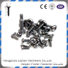 Plated archimedes screw strip collated drywall screws
