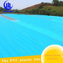 APVC engineering anti-corrosion roof tile price/roofing materials for poultry houses