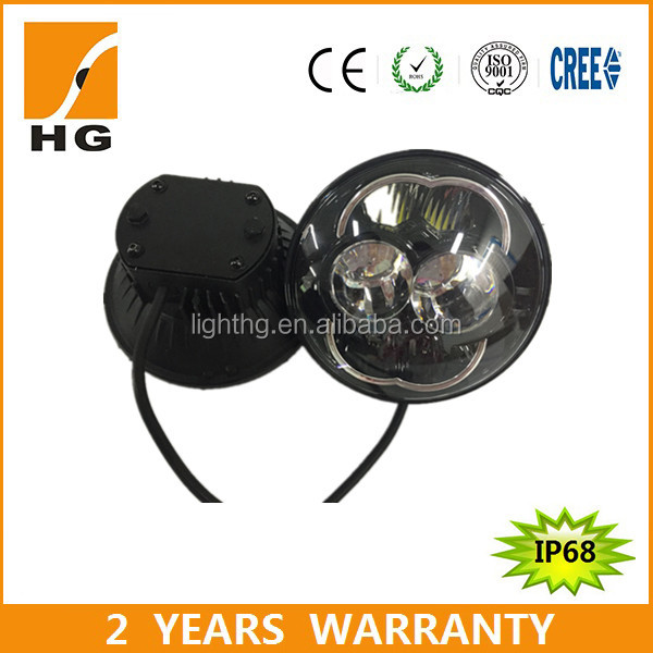 "5.75inch led headlight e-mark 5 3/4"" headlight Harley 5 3/4 inch motorcycle light"