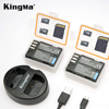 KingMa D-Li90 Battery (2-Pack) And Dual USB Charger For Pentax D-LI90 And 645D, 645Z, K-01, k-1,K-3, K-5, K-5 II