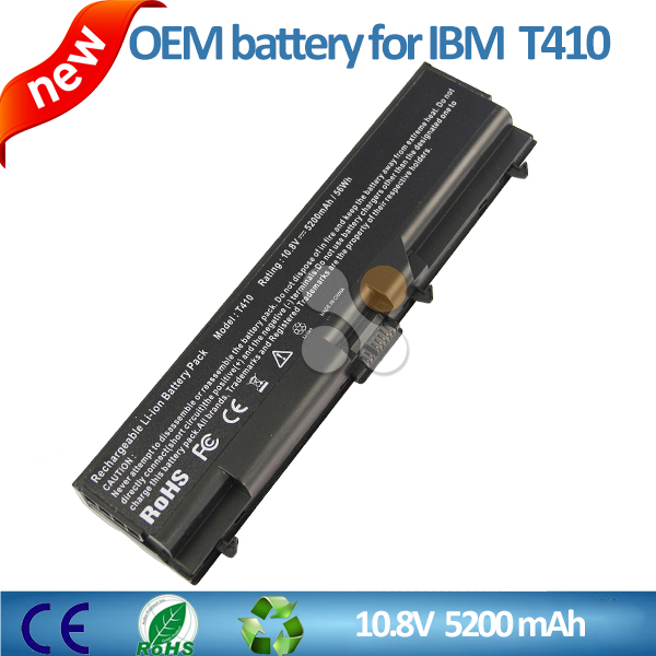 10.8V 5200WH OEM Laptop Battery for Lenovo T410 E40 E50 T510 W510 T420 T510i L510 L420 L421 L521