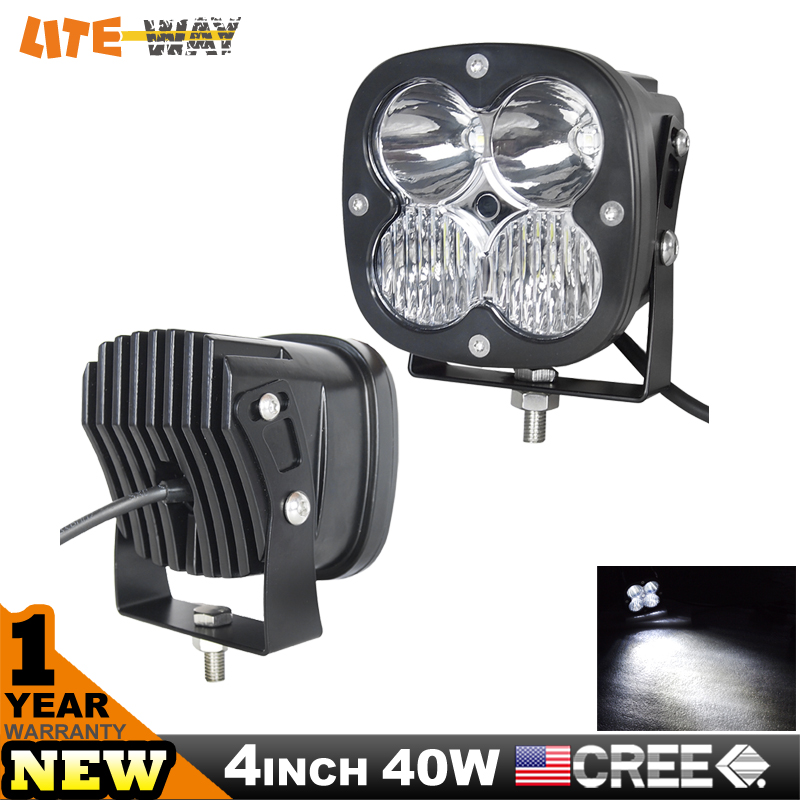 40w Cube Work Light For ATV Tractor Truck IP68 Heavy Duty SUV Led Work Light