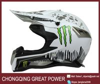 2015 new model motorcycle helmet with ABS materail