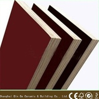 chinese supplier Phenolic Glue 12mm poplar Core wood plywood