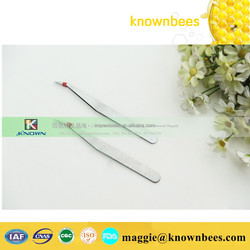 Stainless steal tweezers for queen rearing