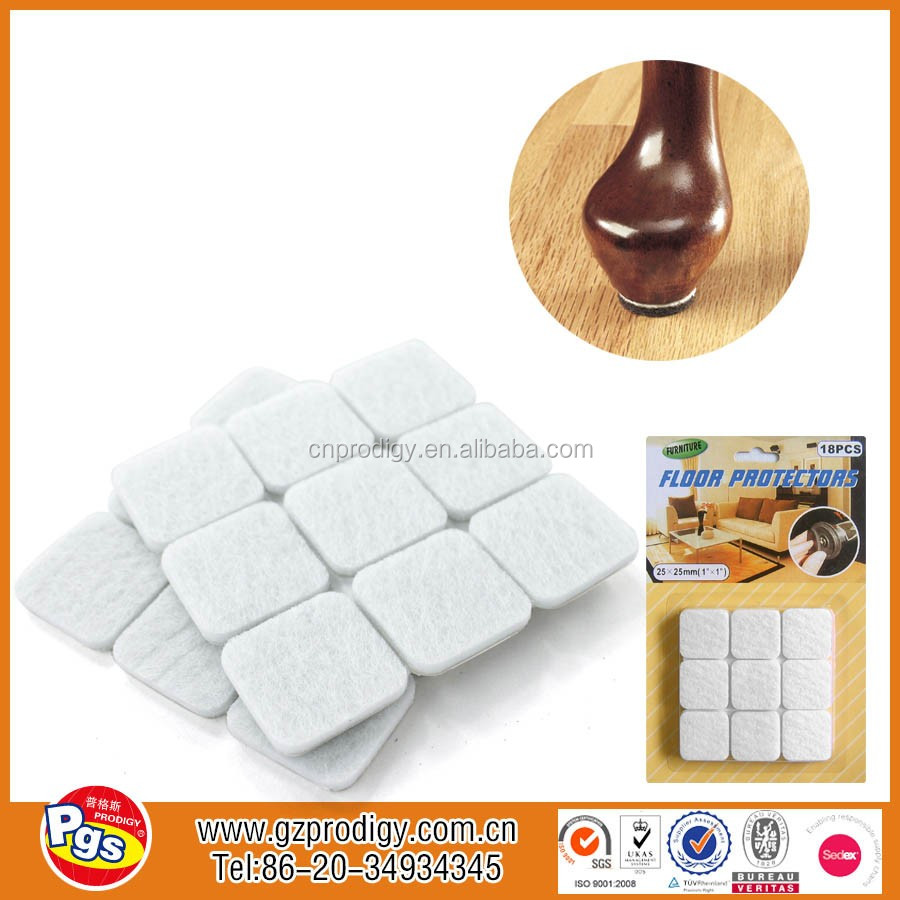double adhesive pads furniture adhesive felt pads self-adhesive chair scratching preventer