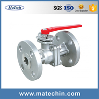 OEM Carbon steel ball valve electric actuated ball valve