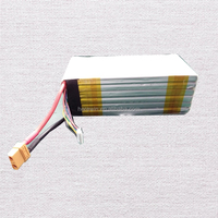 China battery supplier 22.2V 20C 22000mAh rechargeable lipo battery for UAV Drone Helicopter