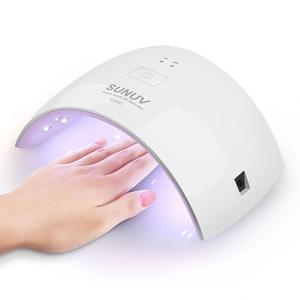 Hot Sale Mini Sunone UV Curing Dryer UV Lamp Mini Curing Light Gel Nails and Pedicure 18w Paypal