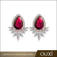 2016 OUXI Gold Jewelry Earring 20854