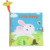 Various design baby soft fabric cloth Crinkly book manufacturer