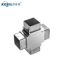 Stainless Steel Square Tube Connector / Square Tube Flush Joiner / Square Tube Elbow Bends