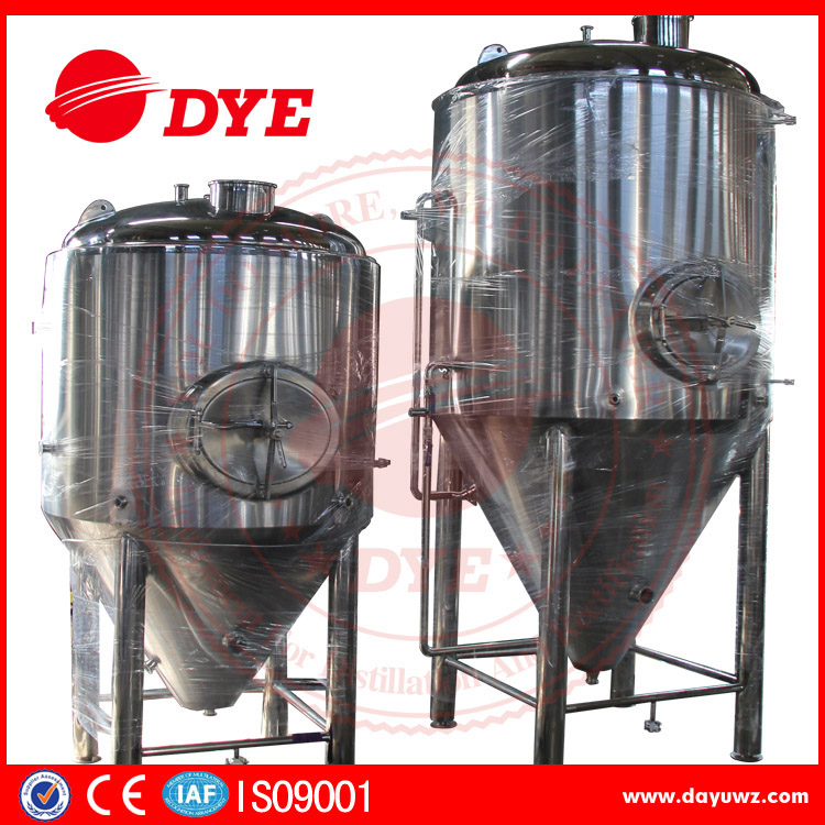 100L top manhole stainless steel beer fermenter tank for sale