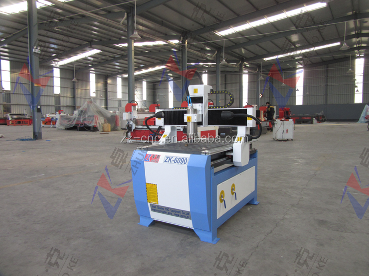 ZHUOKE-6090-3.2KW Small Wood CNC Router 600*900mm With Vacuum Table & Vacuum Pump