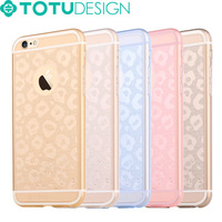 Low Price Wholesale Multi color Transparent TPU Fancy Cell Phone Cases for iphone 6