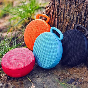 UFO speaker sound system 3D stereo music surround wireless waterproof portable fabric wireless speaker