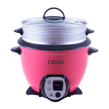 pink/blue/orange/green color multi purpose baby mini drum shape rice cooker
