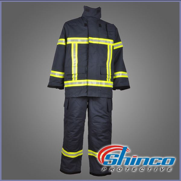 Blue reflective ribbon winter work waterproof coverall