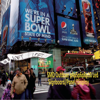 smd outdoor p10 led signboard/panel/display,USA popular series high bright wateerproof led video sign for advertising